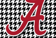 roll tide  / by Tisha Ooten