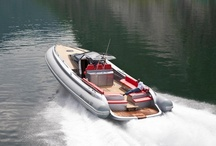 Inflatable Boats Albatro 50 Tender / The Albatro 50 Tender presented in 2009 is the second of a rib line. In the future the Rib Tender line will include three more models from 45 to 70 feet.