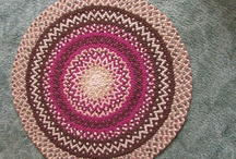 Award wining rugs by Rose / Hand braided rugs, flannel wool, recycled wool, repurposed wool, hand laced