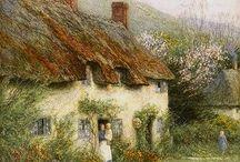 Cottages  schilderen