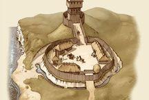 Castle medieval inspiration