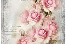 λουλούδια decoupage 1