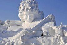 Harbin Ice and Snow World Sculptures