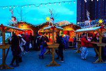 Best of 2016 - Christmas Village in Baltimore / Twinkling lights, delicious food, one of a kind vendors, and tons of fun await you! These are the best pictures of 2016 and 2017 season begins on Nov 23 and that can't come soon enough!