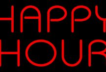 Happy Hour Neon Signs