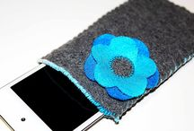 felted phone case covers