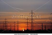 Sun and sunset