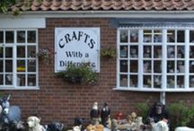 lovely shops in norfolk / quirky quant and pretty gift and craft shops