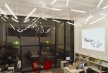 Ofis Işıklandırması / Çalıştığınız alanın ışığı, veriminiz ve motivasyonunuz açısından önemlidir.