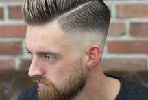 Model hair cut