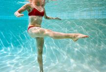Aquatic yoga, water yoga, aquayoga