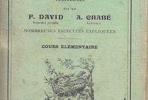 vieux livre d'école