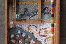 mixed media & recycled art