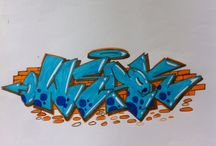 weaktwo sketch / Graffiti