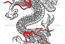 Tatuaje dragón