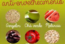 alimentos anti-envelhecimento