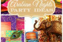 Party themes - Arabian nights