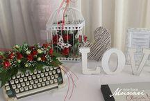 Mesas de firmas para bodas