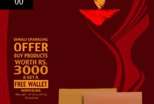 Baggit is offering a Sparkling Diwali offer just for you! / Purchase worth Rs. Rs.3000 & get a free wallet worth Rs.850 at our Exclusive Stores & www.baggit.com This exciting offer is valid till 30th Oct 2014. Time to get into the celebratory mood and splurge on our fashion accessories to look your fashion best this festive season!