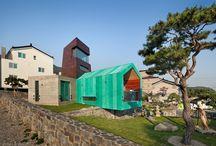 ARQ COREA DEL SUR / Arquitectura que nos encontramos en Corea del sur.