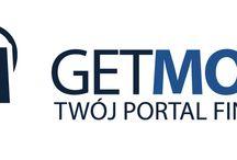 Logo Get-Money.pl / Logo Portalu Finansowego Get-Money.pl. Twój Portal Finansowy Get-Money.pl to porównywarka ponad 300 produktów finansowych bankowych oraz 100 produktów pozabankowych, m.in. szybkich pożyczek online. Web: www.get-money.pl