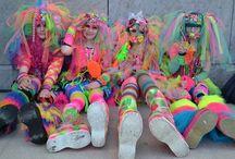 Costumes Rainbow / La what the party Rainbow VS Darkness, c'est le 29 avril ! OMONDIEU ! Mais je ne sais pas quoi me mettre ! T'inquiètes, on a pensé à toi. Voilà pleins d'inspi si tu veux faire partie de la rainbow Team.