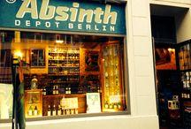 Absinthe Depot Berlin / Es ist uns eine Freude mit unseren Absinthe Produkten aus dem Val-de-Travers im Absinthe Depot Berlin vertreten zu sein. www.absinthedistribution.ch