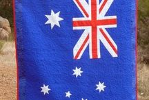 Aussie themed quilts