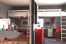 INSPIRATION CHAMBRE / chambre pour petits et grands!!!