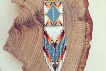 Бисер. Кирпичное плетение