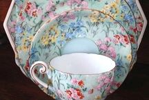 Chintzy.... / My love for Chintz China and Fabric
