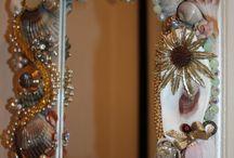 Glaces décorées