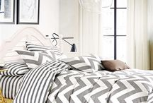 Chevron Gray Twin XL Comforter