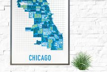 Modern Chicago Souvenirs / Some our favorite keepsakes and take-home goods celebrating the great city we call home, Chicago