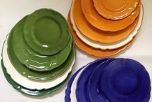 Parola d'Ordine COLORE / Colori e Decori Brillanti, tonalità Briose abbinate perfettamente tra di loro x una tavola elegante e di classe