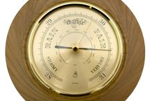 Timber-Treasures Peasedown St John Barometer (16cm) / This Timber-Treasures, quality brass barometer is set in a hand turned frame of Elm from Peasedown St John, Somerset (UK). Using air pressures it is able to predict the weather with its quality German mechanism. The wood frame measuring 16cm, was recovered from an Elm tree felled in 2007 in Peasedown St John to allow more light and air to the trees around it in a previously untended area of local woodland.