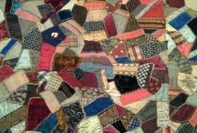 """crazy / Inspiration pour la page d'Avril du journal textile sur le blog de """"la libellule s'évade"""" / by Nathalie Dentzer Créations"""