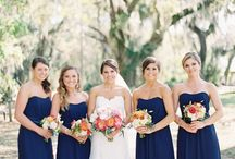 Wedding - Wedding Party / Ideas for gifts and what the wedding party will wear.
