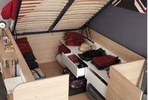 projekt pod łóżko do sypialni