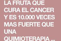 fruta cura cáncer