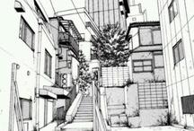 Manga Cityscape