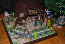 Christmas nativity  (Φάτνες)