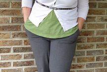 plus size work outfit/рабочие наряды для дам с формами