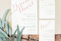 Wedding | Stationery