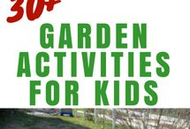 Nature and Gardening activities for kids