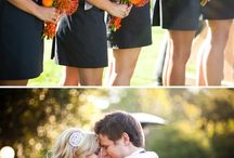 Gray & Orange Weddings