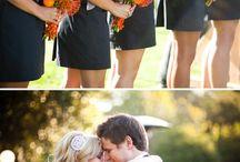 "Gray & Orange Weddings / by ""I Do""...Balloons, Weddings, & Events"