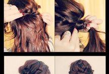 oppsett av hår
