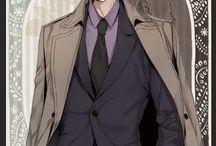웹툰-양복
