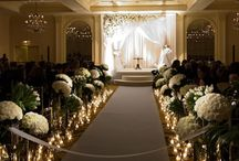 Indoor Ceremony Decor